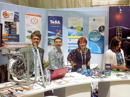 TeSA at the Toulouse Space Show 2018