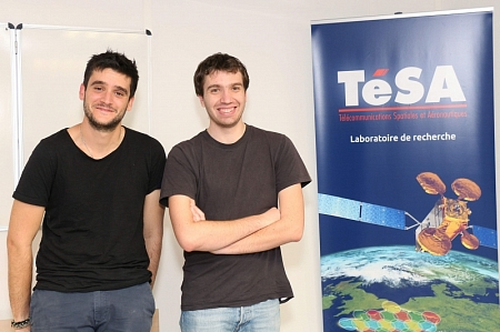 Julien Lesouple and Bastien Tauran