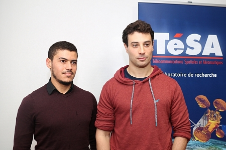 Nabil Kbayer and Lucien Canuet