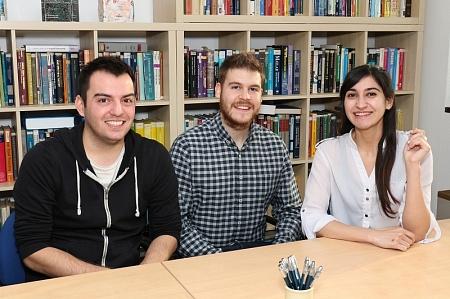 Adrien, Lorenzo and Selma