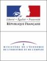 Logo of Ministère de l'Économie, de l'Industrie et de l'Emploi